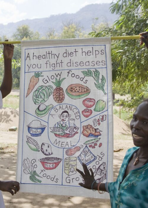 Caritas fighting food insecurity