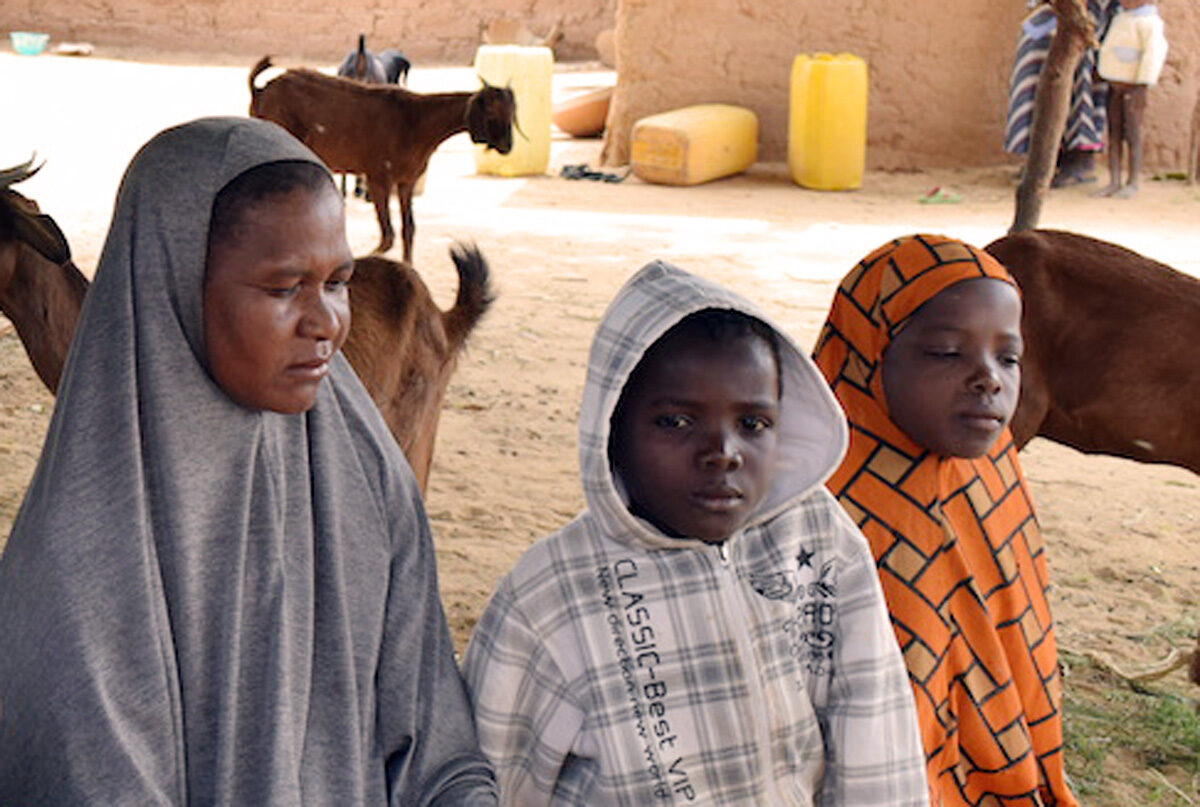 Goats save people from hunger in Niger