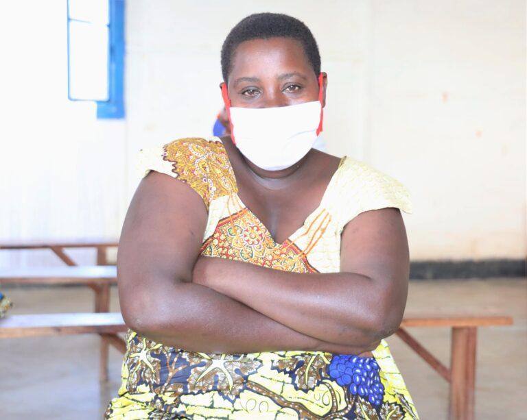 Kayirangwa Emeline, Burundian refugee in Mahama camp