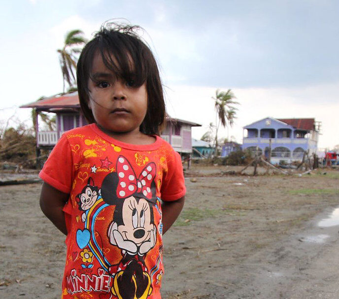 Caritas on the ground giving urgent help to Central America following devastating hurricanes