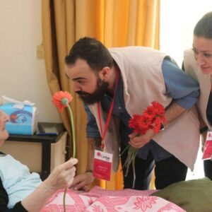 "Caritas Syria staff Elias : ""helping people while experiencing the same crisis ourselves"""