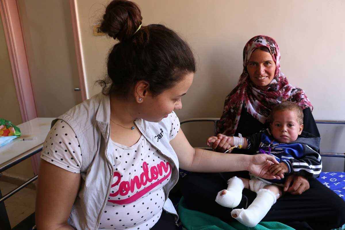 Caritas with Syrians through ten years of war, displacement and humanitarian crisis