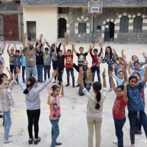 Caritas confederation close to the Syrian population throughout ten years of war serving ten million people