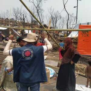 Caritas running against time to provide Rohingya refugees with shelter ahead of monsoon season following devastating fire
