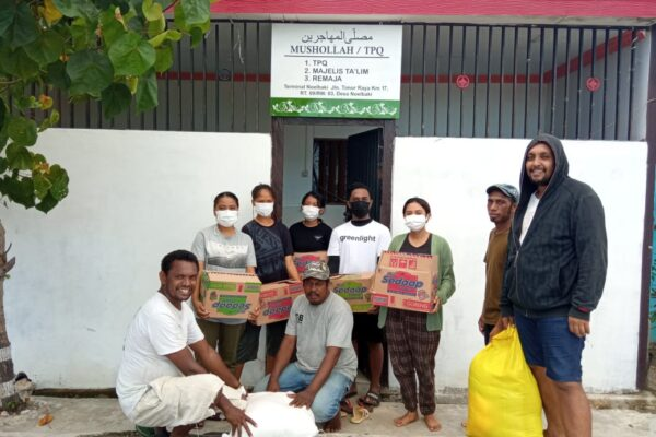 Indonesia: Young volunteers provide crucial support to Caritas' response to Cyclone Seroja