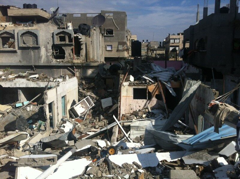 Help Gazans who have no where to hide as deadly bombs rain down