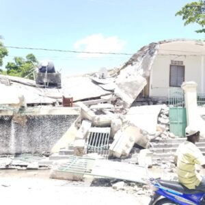 Earthquake in Haiti: Caritas has supported the population from the very beginning