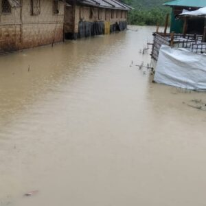 Heavy rains and floods in Cox's Bazar