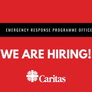 Job opening: Emergency Response Programme Officer